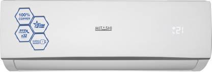 MITASHI 1 Ton 3 Star Split AC  - White