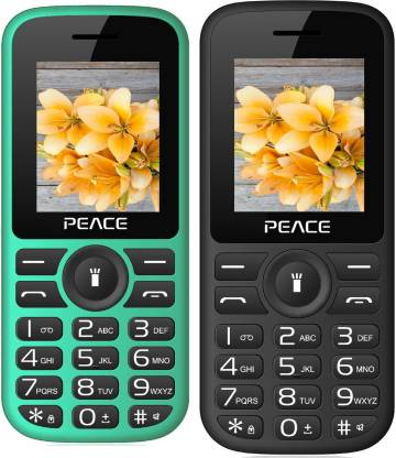 Peace P4 Combo of Two Mobiles