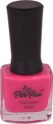 Perpaa Premium Long Wear Nail Enamel Crimson Pink