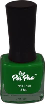 Perpaa Premium Long Wear Nail Enamel Forest Green