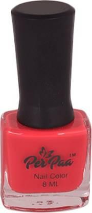 Perpaa Premium Long Wear Nail Enamel Cherry Red