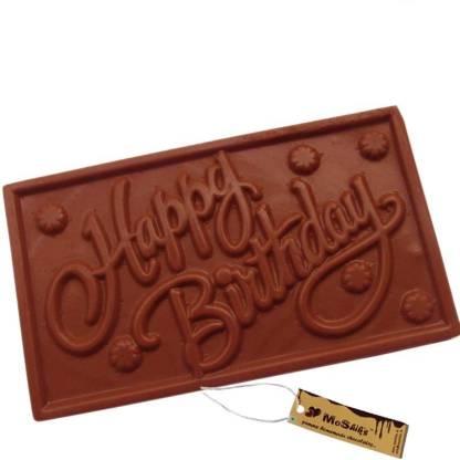 Moshiks HAPPY BIRTHDAY 200 GM MILK CHOCOLATE BAR Bars