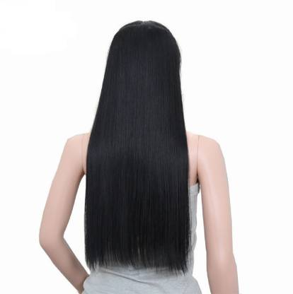 HAVEREAM Natural black straight Hair Extension