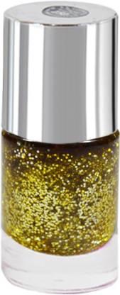 La Perla International Golden Sparkle Nail Paint Golden Sparkle