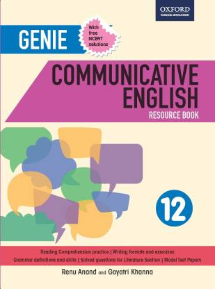 Genie Communicative English Resource Book 12 - Includes NCERT Solutions