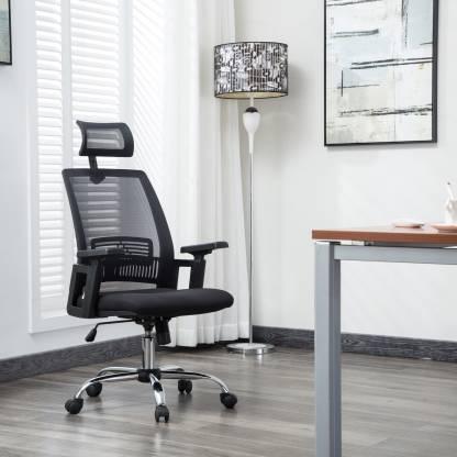 Flipkart Perfect Homes Howard Fabric Office Executive Chair
