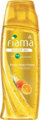 FIAMA Brazilian Orange & Ginseng Shower Gel