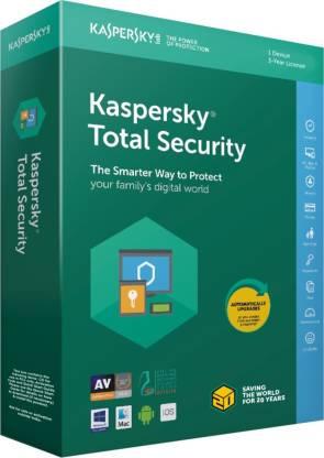 KASPERSKY Total Security 1 User 3 Years  (CD/DVD)
