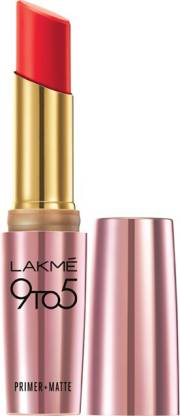 Lakmé 9 to 5 Primer + Matte Lip Color
