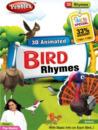 PEBBLES 3d Bird Rhymes