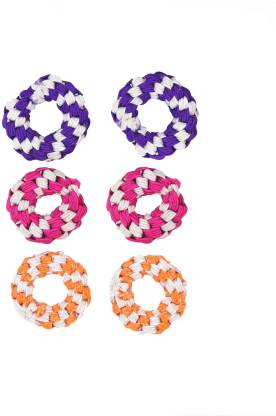 One Personal Care Princess Colorful Designer Fabric Scrunchies Casual Wear SQ-549-02 Hair Accessory Set
