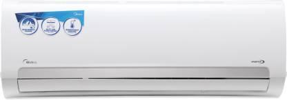 Midea 1 Ton 3 Star Split Inverter AC  - White