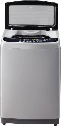 LG 7 kg Inverter Fully Automatic Top Load Silver