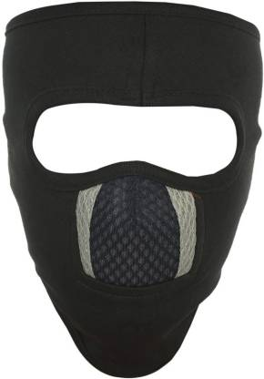 H-Store Black Bike Face Mask for Men & Women