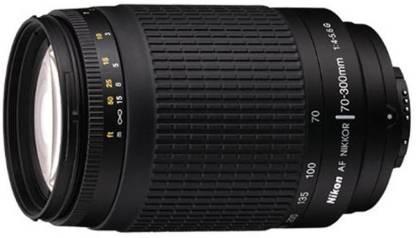 Nikon AF Zoom Nikkor 70   300 mm f/4 5.6G Lens for Nikon AF Mount Black  Nikon Camera Lenses