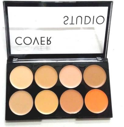 NATURAL Contour Concealer highlighter bronzer pallets shades long-lasting cream Concealer