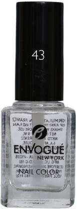 ENVOGUE Nail Polish Top Coat 9.5 ml Top Coat