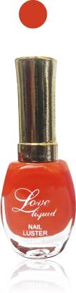 femina09 ss cosmetics makeup love liquid matte nail polish exclusive Fashion Beautiful orange Combo set of 1 orange