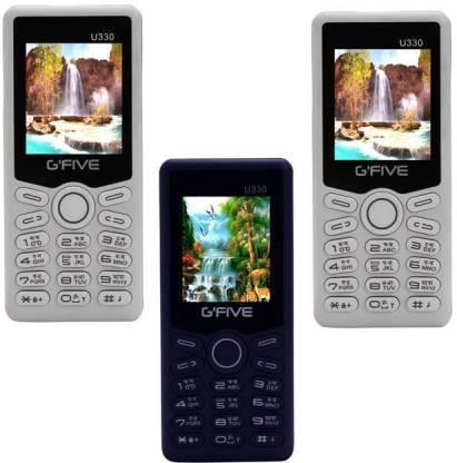 GFive U330 Combo of Three Mobiles