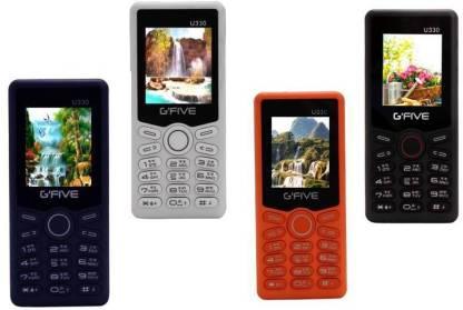 GFive U330 Combo of Four Mobiles