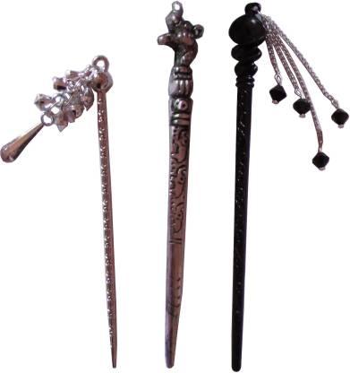 toppik Toppik Combo of Multi Color Juda Sticks Bun Stick