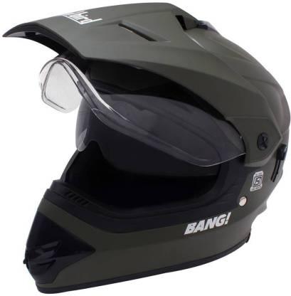 Steelbird Sb-42 Bang Matt Motorbike Helmet