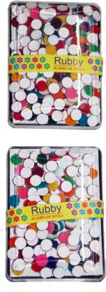 KONIT Plastic Packing Multicolour Pack Forehead Multicolor Bindis