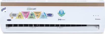 CARRIER Hybridjet 1 Ton 5 Star Split Inverter AC  - White