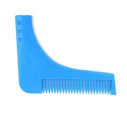 Inditradition Beard Trimming Comb For Perfect Beard Lines & Styling, Blue