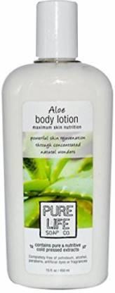 Pure Life Pure Life Soap Co Aloe Body Lotion