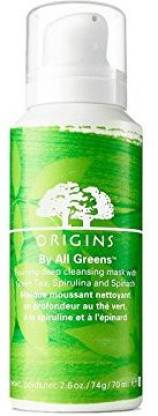 Origins All Greens Foaming Deep Cleansing Mask With Green Tea Spirulina And Spinach
