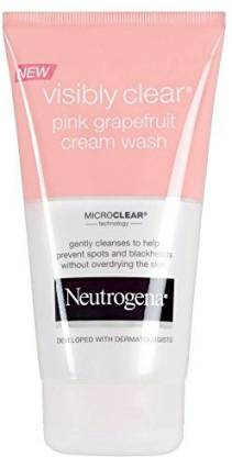 NEUTROGENA Visibly Clear Pink Grapefruit Cream Wash