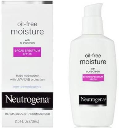 NEUTROGENA Oil Free Moisturizer lotion