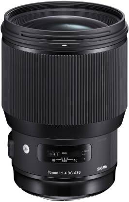 SIGMA 85mm F/1.4 DG HSM Art lens for Canon Dslr Camera  Lens
