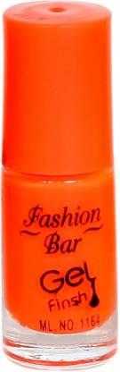 Fashion Bar Nail Polish Orange