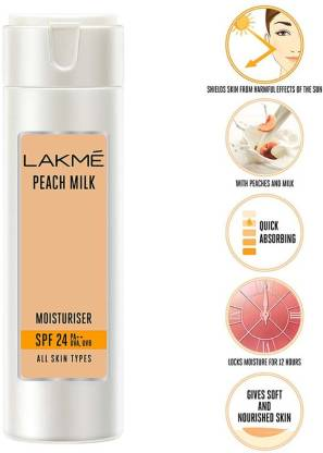 Lakmé Peach Milk Moisturizer SPF 24 PA++