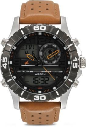 Fastrack 38035SL04 Analog-Digital Watch - For Men