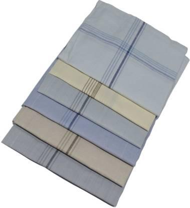 """Shop At Bargain Multi SW Formal Handkerchief Pack Of 6 [""""Multicolor""""] Handkerchief"""