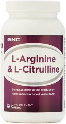 GNC L-Arginine and L-Citrulline BCAA