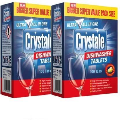 Crystale Ultra All In 1 Dishwasher Tablets Dishwashing Detergent