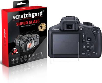 Scratchgard Screen Guard for Canon EOS 700D Camera, Super Glass