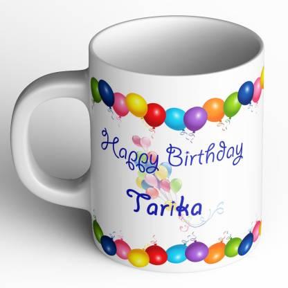 Abaronee Happy Birthday Tarika Ceramic Coffee Mug