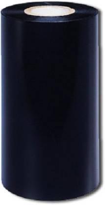 Aditya Labels 110 mm X 300 Meters Thermal Transfer Premium Wax Ribbon coated outside. Paper Label