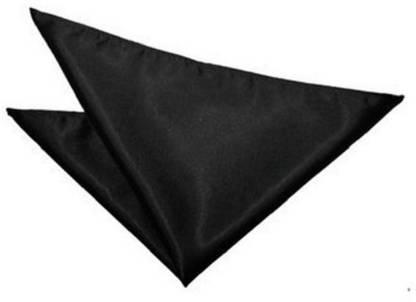 StyleRide Solid Satin Blend Pocket Square