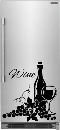 Stickeryard Medium Wine Bottle Glass Decor Kitchen Wall Sticker Decal Price In India Buy Stickeryard Medium Wine Bottle Glass Decor Kitchen Wall Sticker Decal Online At Flipkart Com