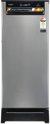 Whirlpool 200 L Direct Cool Single Door 3 Star Refrigerator with Base Drawer