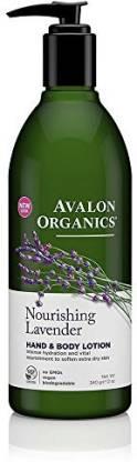 AVALON ORGANICS lotion