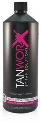 Generic Tanworx Rapid Hour Spray Tan Worx Solution Tanning Solutions lotion