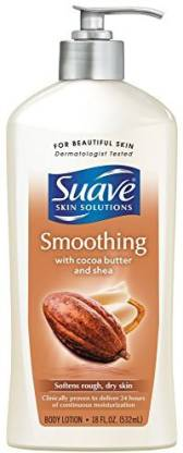 Generic Suave Skin Solutions Smoothing With Cocoa Butter Shea Body lotion