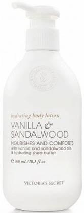 Generic VictoriaS Secret Vanilla Sandalwood Naturally Hydrating Body Lotion